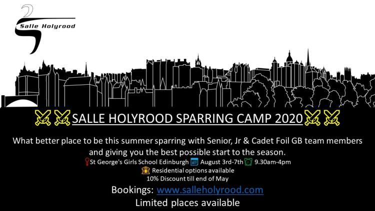 Salle Holyrood Summer Camp 2020